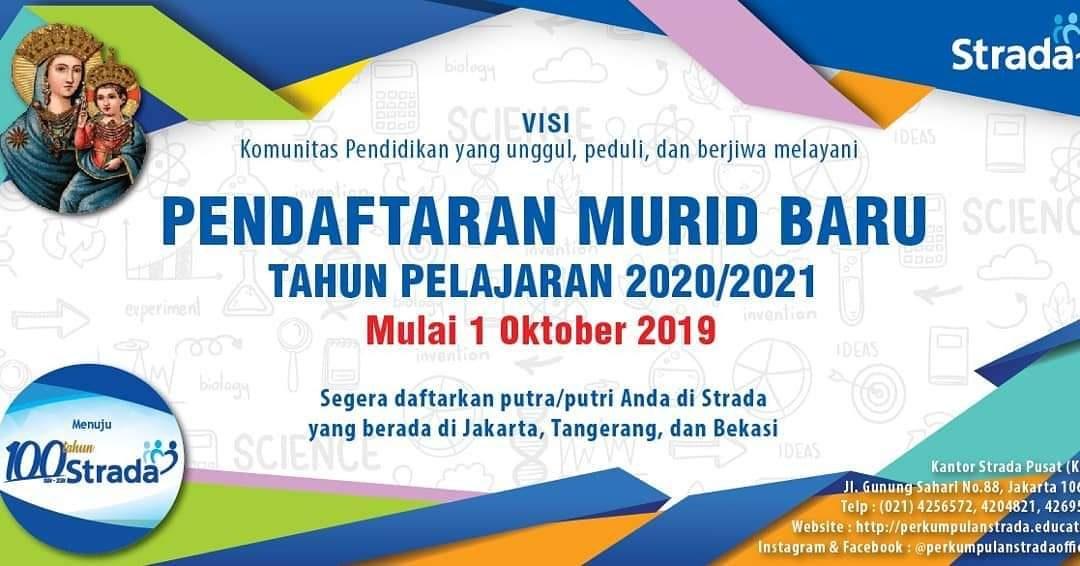 Pendaftaran Murid Baru Tahun Ajaran 2020/2021