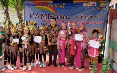 Kegiatan Kampung Anak di Kelurahan Sukarasa